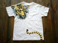 NEW★手描き半袖T「タイガー」