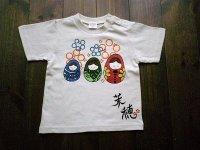 手描きTシャツ「マトリョーシカ」