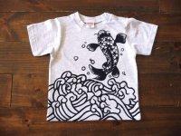 手描き半袖T「鯉」